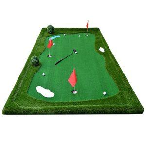 TT Golf Putt Practice Mat Fairway Couverture d'exercices intérieur / extérieur Long 3.5m / 5m ( taille : 5m )