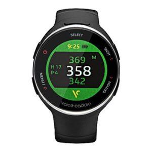 Voice Caddie T3Hybrid montre de golf GPS Télémètre en langue anglaise avec le mode manuel en anglais