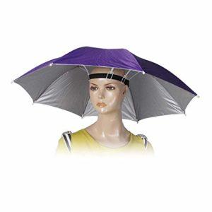 Westeng Golf Pêche Camping Headwear Cap Soleil Chapeau de parapluie 55cm de diamètre 1pièce