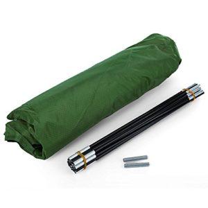 2m Tapis de cage pour Pratiquer Filet d'entraînement de golf frappant Baffle pilote pour intérieur ou extérieur Jardin Pelouse