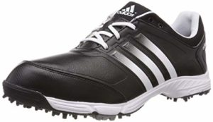 adidas Adipower TR, Chaussures de Golf Pour Femme, Noir/Blanc