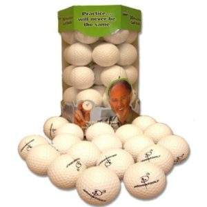 Almost Golf 36 Practice Ball Refill Pack – White by Almost