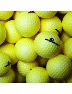 Almost Lot de 36 balles de golf (Jaune)