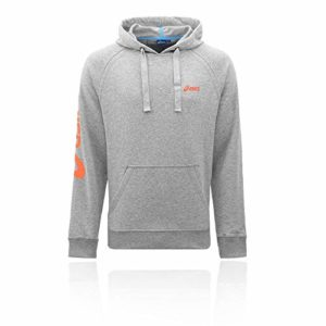 Asics MS HOODY Sweat a Capuche Homme