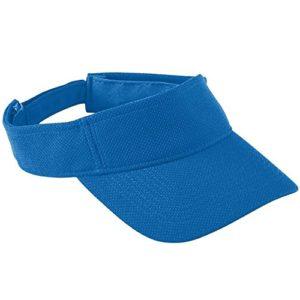Augusta Sportswear Kids 'réglable Visor de maille respirante – Bleu –