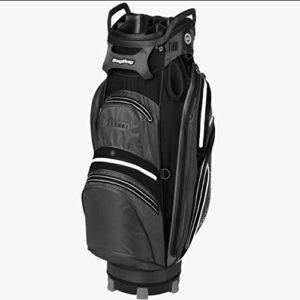 Bag Boy BB-37131EUS Sac de Golf Mixte Adulte, Charcoal/Noir/Blanc