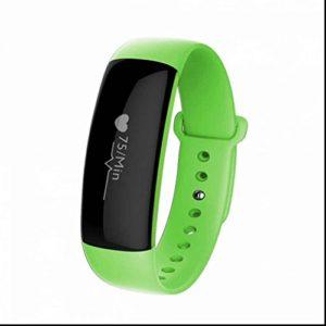 Bracelet Connecté Fitness Tracker d'Activité Montre le moniteur de fréquence cardiaque, moniteur de sommeil, Bracelet Connecté de podomètre avec Step tracker/compteur de calories pour Android et iOS smartphones