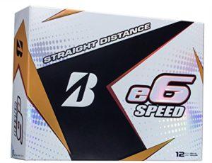 Bridgestone 2017E6Speed Balles de golf (Une Douzaine), Homme, e6 Speed White, blanc, Value not found