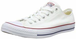 Converse Chuck Taylor All Star, adulte pour chaussures de sport – Blanc – Optical White,