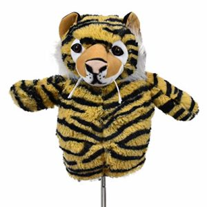 Creative couvertures pour golf Tiger in the Woods Cache tête de club de golf