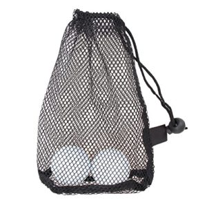 Demiawaking Filet en nylon filets Sac pochette de golf de tennis de 15 Boule de transport support de stockage Durab