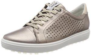 Ecco Womens Casual Hybrid Perf, Chaussures de Golf Femme, Or (Warm Grey 01375), 41 EU