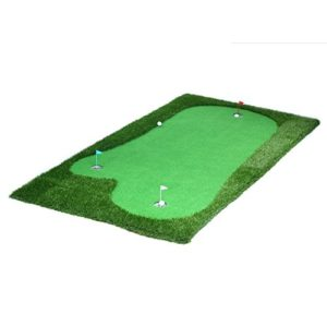 Emma home Tapis De Golf Golf Man-made Greens Portable Pratique Couverture Indoor Putt Exerciseur Mini Vraie Expérience (Couleur : Thicker, taille : 1.5*3m)