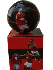 Fc Manchester Team Photo Signature Soccer Ball by MANUTD