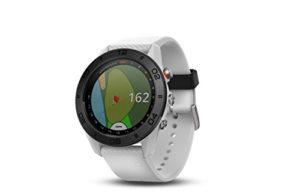 Garmin Approach S60 – Montre GPS de Golf – Bracelet Silicone Blanc