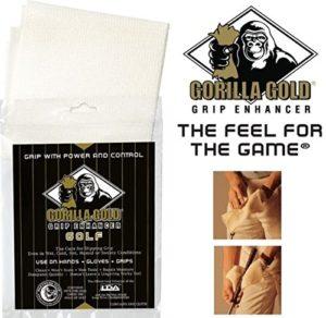 Gorilla Grip de golf serviette Enhancer Or pour temps humides et humides