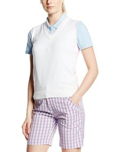 Green Lamb femmes Sasha Spot And Stripe Pull Blanc Blanc/Rose Taille 48