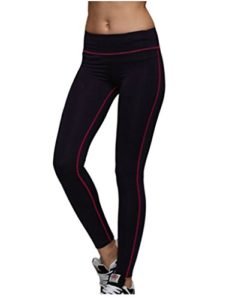 Harem Yoga Femme Caprihose yoga sport Leggings avec poche zipp¨¦e Blackgrey XL