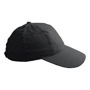 ID – Casquette de golf 100% coton – Homme (Taille unique) (Noir)