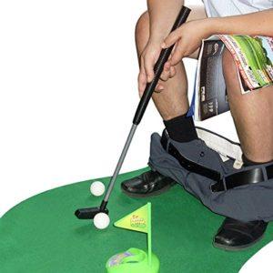 Kit de golf toilette WC – cadeau golf