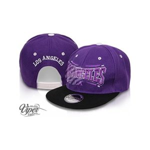 Midi Shopping – Casquette Snapback Pas Cher Cap Hat Flatbrim «Los Angeles» CAP 14LA