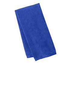 Port Authority Serviette de golf en microfibre. Tw540 – Bleu – Taille Unique