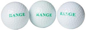 Second Chance Lot de 500 Logo sur motif Run Lot de 2 boules de gamme blanc