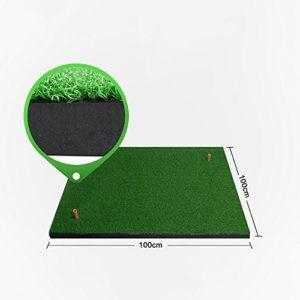 SP Tapis de golf Golf Hit Pad Swing Practice Mat Add Thick (Couleur : # 2, taille : 125*100cm)