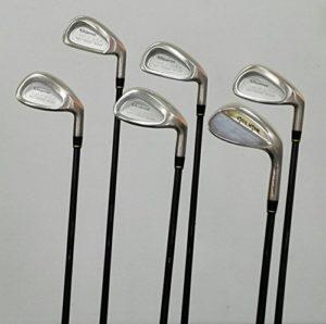 Walk Clubs de Golf Jeu de Albatross SL droit main a Flex Longueur standard–Moi Fer avec 3en bois et Driver 380SL