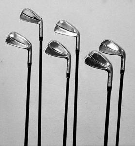 WalkGolf Blade 2700Fer moi/harmonised Set, Monsieur Clubs de Golf qualité–pour les golfeurs Golf ou de microphones handicaps 0à 10pour droitier