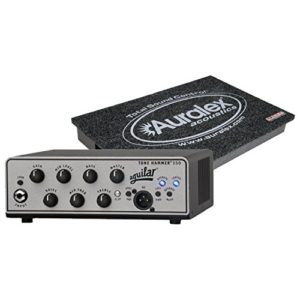 Aguilar Tone Hammer 350 Super Light Bass Head, 1,4 kilogram, 350 watts W/Auralex Gramma