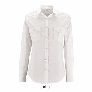 Chemise Burma Femme Blanc – blanc – XL