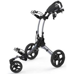 Clicgear Rovic RV1S Swivel Golf Trolley, Color- Silver/Black by Clicgear