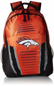 Forever Collectibles NFL Logo de l'équipe à rayures Franchise Sac à dos, Denver Broncos