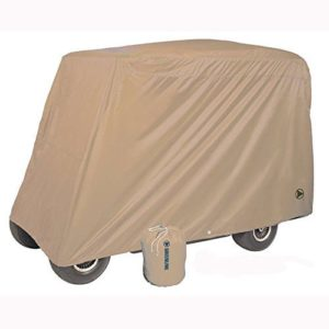 Greenline 4 Passenger Golf Car Cover (Tan, 106×47.5×62-Inch) by Greenline Tournament Storage Covers