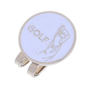 MagiDeal Marqueur De Balle De Golf Magnetique Pince Chapeau Ronde Accessoire Golfeur