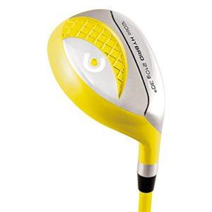 MKIDS de Golf Hybride Junior avec lamkin tour-quality Grip et grafalloy Pro Launch Control Graphite, mixte, Right, jaune, n/a