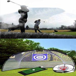 MSL 3en 1Ensemble de golf Pratiquer Grande éclats Filet Swing de golf Tapis approche Net de l'emballage