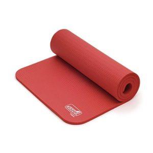 Natte de Gymnastique Sissel Pro rouge-1453- Certifié France Medical Industrie