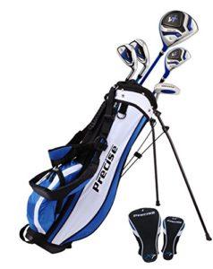 précis X7Junior complète club de golf pour enfants–3tranches d'Âge Tailles disponibles–garçons et filles–La Main droite et main gauche., Blue Ages 9-12