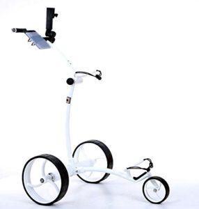 Tour Made rT 630LI lithium-chariot de golf électrique avec frein moteur blanc
