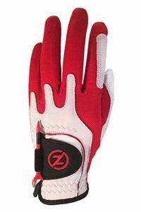 Zéro Friction ZF-GL70004 Gants de Golf Homme, Rouge
