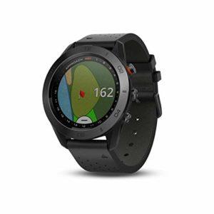 Garmin – Approach S60 Premium – Montre GPS de Golf – Noire