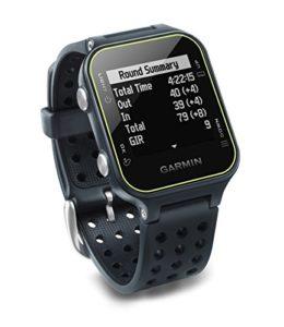 Garmin Approach S20 – Montre GPS de Golf – Gris