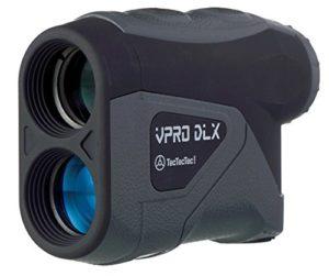 TecTecTec VPRO DLX Télémètre Laser Golf – Laser Mètre pour Golf et Chasse (Noire)