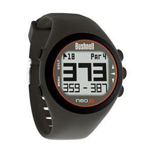 Bushnell Golf 2014 Neo XS GPS Uhr Holzkohle/Orange