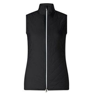 Callaway Puffer Vest Gilet de Golf, Femme M Noir