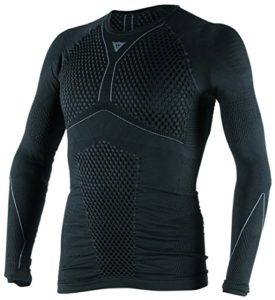 Dainese-D-CORE THERMO TEE LS, Noir/Anthracite, Taille XL/X