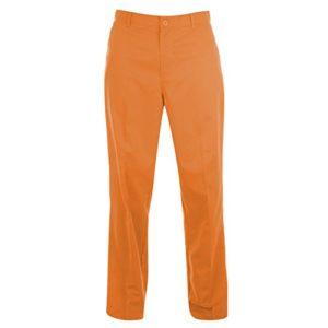 Dunlop Homme Multicolore Golf Coupe droite Pantalon outdoor Golf pantalon de loisirs pour homme – Orange – W34
