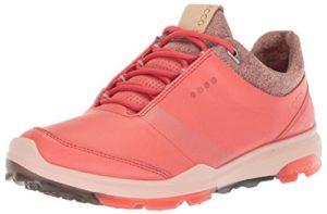 ECCO 125503 Chaussures de Golf pour Femme, Femme, 125503, Rose 50865, 35 EU